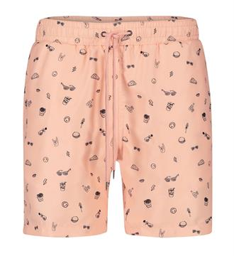Kultivate Zwemshorts Peach