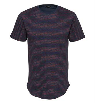 Only and Sons T-shirts Perry fitted Rood dessin