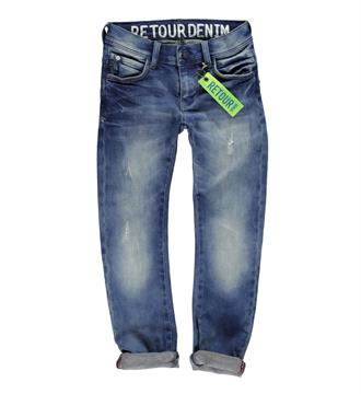 Retour Slim jeans Dark blue denim