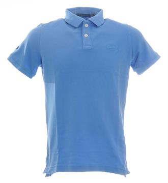 Superdry Polo's Blauw