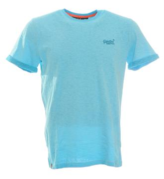 Superdry T-shirts Blauw
