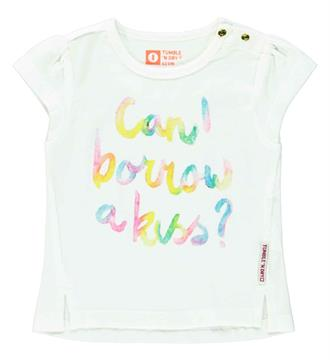 Tumble 'n Dry newborn T-shirts Wit