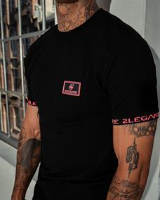 2Legare T-shirts 2lg neon badge tee