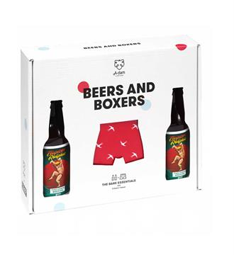A-dam Boxers Beers-boxers Rood dessin