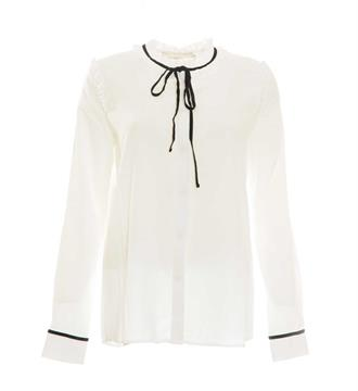 Aaiko Lange mouw blouses Charee pes 539 Off white