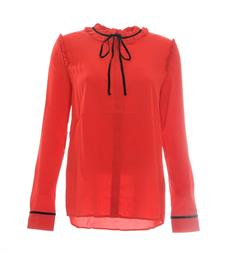 Aaiko Lange mouw blouses Charee pes 539 Rood