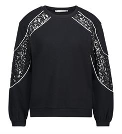 Aaiko Sweatshirts Savana co 367 Zwart