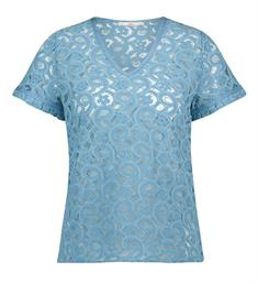 Aaiko Tops Flory co 542 Blauw