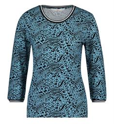 Aaiko Tops Goldy mix vis 344 Blauw