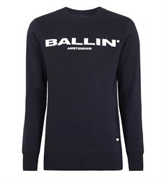 Ballin Fleece truien 17040301 Navy