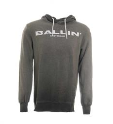 Ballin Fleece truien 17040306 Antraciet