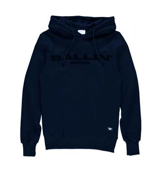 Ballin Fleece truien 17040309 Navy