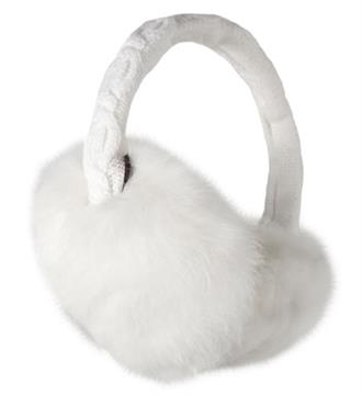 Barts Oorwarmers 0128 REAL FUR Off-white