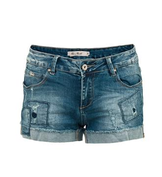 Be a Diva Denim shorts Diaz Blue denim