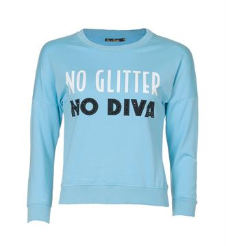 Be a Diva Sweaters Lichtblauw