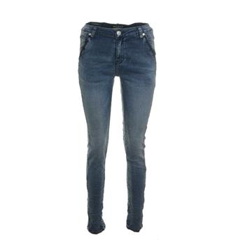 Bianco Baggy jeans 1117149 tucson Blue denim