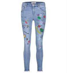 Bianco Baggy jeans 1118428-comicon Blauw