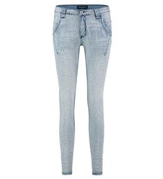 Bianco Baggy jeans 1118495-leopard jude Blauw