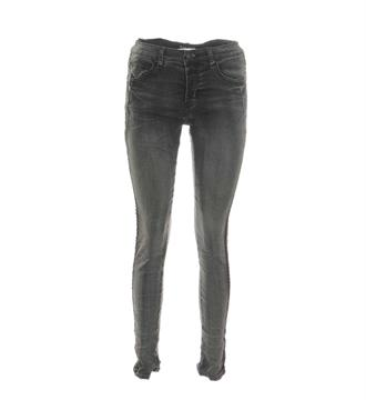 Bianco Baggy jeans 1217314bl orian Black denim