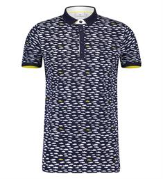 Blue Industry Polo's Kbis19-m26 Navy
