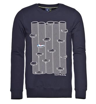 Blue Industry Sweaters Navy
