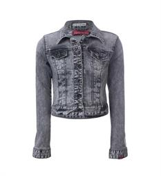 Blue Rebel Denim jackets 7241022 groupy Black denim
