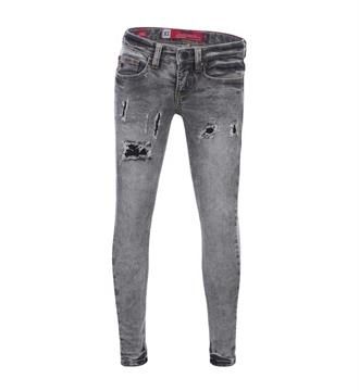 Blue Rebel Skinny jeans 7242012 pyriet Black denim