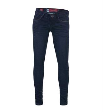 Blue Rebel Skinny jeans 7242016 pyrope Blue denim