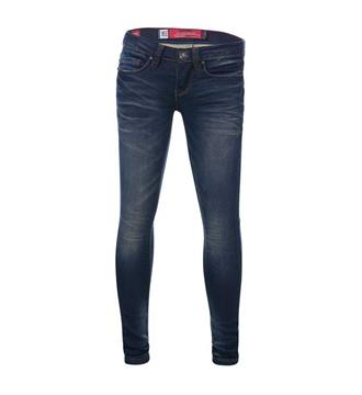 Blue Rebel Skinny jeans 7242020 jet Blue denim