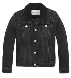 Calvin Klein Denim jackets Ig0ig00249 Black denim
