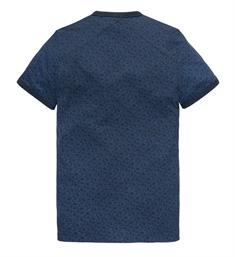 Cast Iron Korte mouw T-shirts Ctss193312 Navy