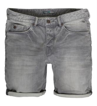 Cast Iron Shorts Black denim