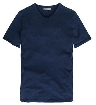 Cast Iron T-shirts Blauw