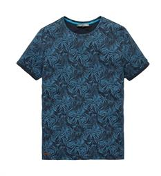 Cast Iron T-shirts Ctss178321 Blauw