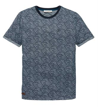 Cast Iron T-shirts Ctss181322 Blauw melee