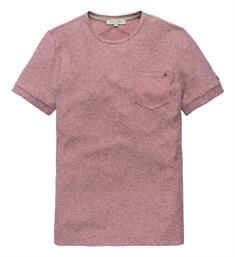 Cast Iron T-shirts Ctss185320 Oud roze