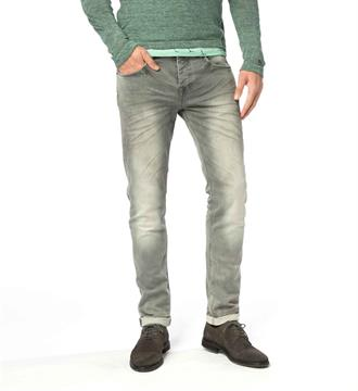 Cast Iron Tapered jeans Cope Tapered Bleached grey sweat Grey denim