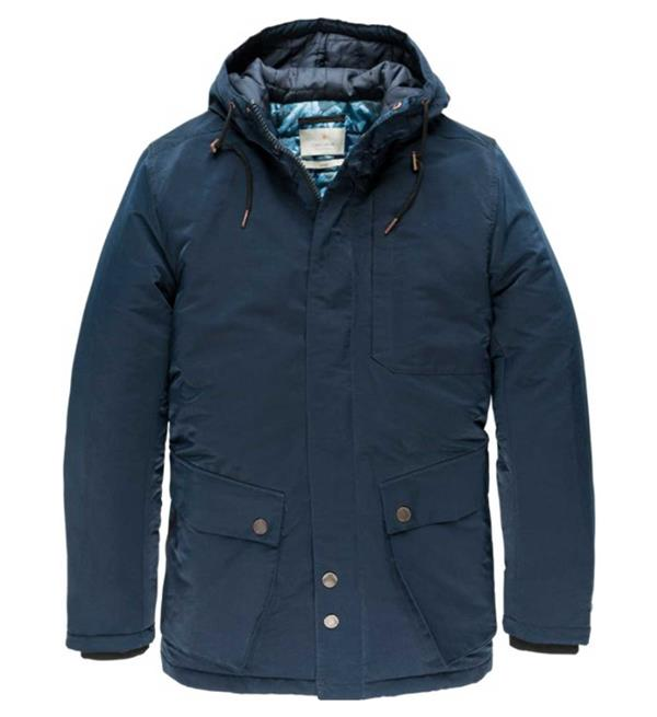 cast-iron-winterjassen-cja185501-navy