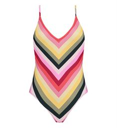 Catwalk Junkie Badpak S happy stripes one piece Multicolor