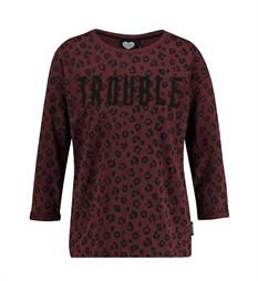 Catwalk Junkie Fleece truien Sw enfant terri Bordeaux