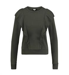 Catwalk Junkie Fleece truien Sw frill party Army