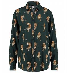 Catwalk Junkie Lange mouw blouses Bl night tiger
