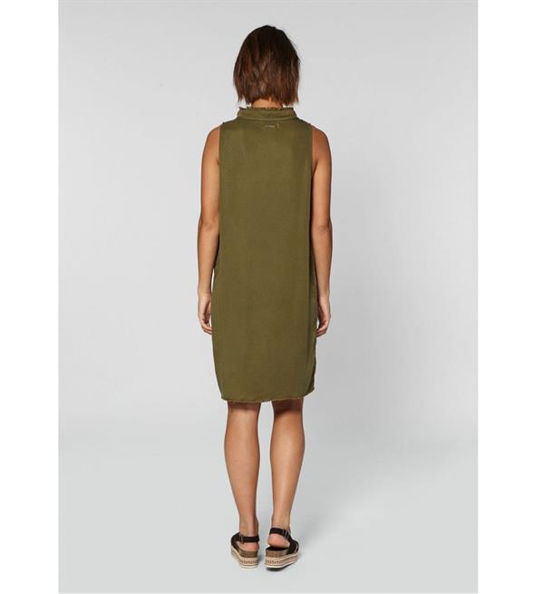 circle-of-trust-korte-jurken-s19-76-8218-demi-dress-army