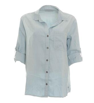 Circle of Trust Lange mouw blouses S17.119.3268 Blauw dessin