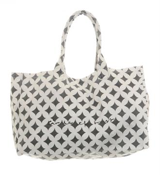 Circle of Trust Shoppers Holly Bag Ecru dessin