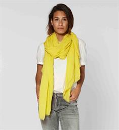 Circle of Trust Sjaals S19.91.5530 sari scarf Geel