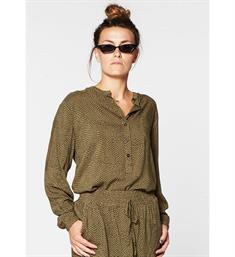 Circle of Trust Tops S19.59.8218 palma blouse Olijf