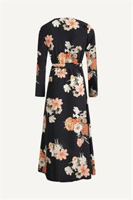 Colourful Rebel Lange jurken 9024 maya flower maxi wrap dre