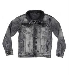 Crush Denim Denim jackets 11810702 denim Black denim