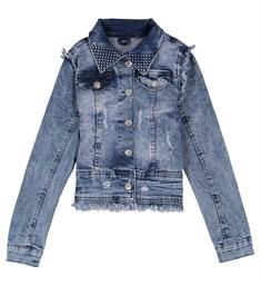 Crush Denim Denim jackets 11820703 judie Medium blue denim
